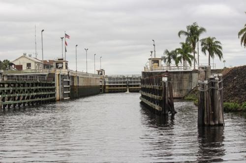 Entering the Ortana Lock