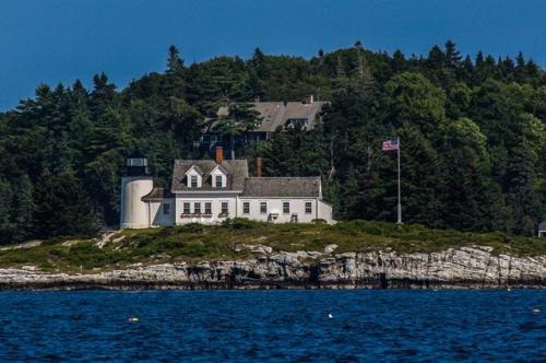Pumpkin Island Lighthouse on Eggemoggin Reach