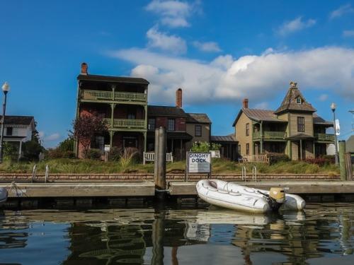 St. Michaels dinghy dock