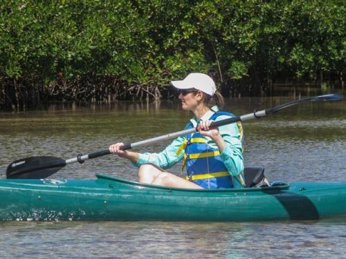 Kayaking among the Mangrove at Stock Island